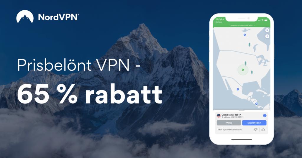 Bästa VPN 2021 - NORDVPN